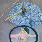 """Operative Psychologie""; Acryl, Privatbesitz"
