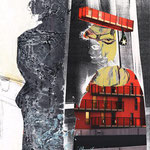 """""""Der Abschluss""""; Collage; Privatbesitz"""
