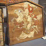 講中奉納の大絵馬(1750年前後の作)