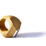 ring/sephora wood/silver