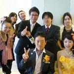 メンバー結婚式2009