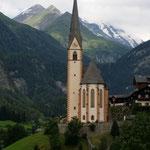 die berühmte Kirche von Heiligenblut