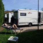 """Wohnmobilstellplatz in """"Greve in Chianti"""""""