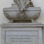 Grabstätte  Nicolo Machiavelli