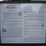 Christi Himmelfahrt vor der Kirche in NEUPOTZ a/Rhein