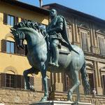 "Reiterstatue von ""Cosimo di Medici"""