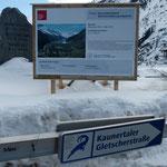 hier geht es entlang - die Panoramastraße entlang des Stausees zum Kaunertaler Gletscher