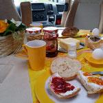 """ein """"typisches"""" Womo-Frühstück"""