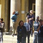 das Teatro Regio - die Medien warten auf den Intendanten