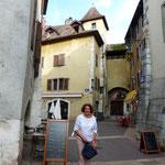 in den Gassen von Annecy