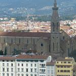 """die Kirche """"Santa Croce"""" mit den Gebeinen historischer Persönlichkeiten"""