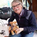 ein Teddy für Enkel Nicholas!