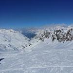 Kaiserwetter auf dem Gletscher