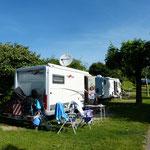 "auf dem Campingplatz ""Au Coeur  du Lac"""