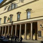 das Teatro Regio, eines der berühmtesten Opernhäuser der Welt, eingeweiht im Jahr 1829