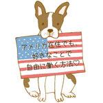 バークホルターさきえさん メルマガ用アイコン(ボストンテリア・アメリカ)-photoshop/インク