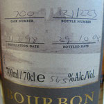Single Bourbon Cask 700, 11.06.1998/29.10.2008, 56,5%, 223 bottles