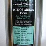 Isle of Arran Murray McDavid, dist. 1996, 12 years old, Enhanced in Chateau Margaux Casks, 1.500 bottles, 46%
