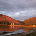 Lochranza Bay bei Sonnenuntergang
