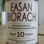 Easan Biorach 10 Jahre Limited Edition for Lochranza Hotel