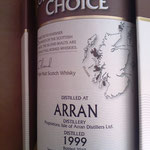 Arran Connoiseurs Choice Gordon & MacPhail, 1999/Dez. 2010, 43%