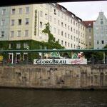Ein Besuch im Nikolaiviertel inkl. Georgbräu war Pflicht