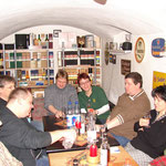 Marko (dem Lawyer sein Kumpel), Thomas (Sir_Dino), Frank (Luckylights), Frank (trickykid), Kerstin (sugar), Lothar (whiskyman_de) Angela (piuthar Lagavulina)
