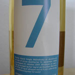 Isle of Arran for Juul's Vin & Spiritus A/S.dist. 12.12.2005, bottled 21.10.2009, 46%, barrels 119/121