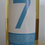 Isle of Arran for Juul's Vin & Spiritus A/S.dist. 12.12.2005, bottled 21.10.2009, 46%, barrels 119/121