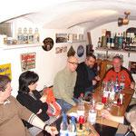 Lothar (whiskyman_de), Abgela (piuthar lagavulina), Jens (Mose), Stephan (waldbaer) und Mario manwithkilt) (von links)