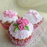 3 「お姫様カップケーキデコ」参考例