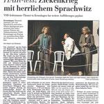 Kieler Nachrichten vom 13.08.12 (Katrin von Scheven)