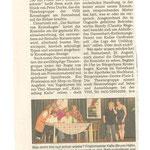 Kieler Nachrichten vom 13.08.07 (Kathrin von Scheven)