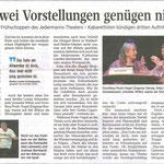 Kieler Nachrichten vom 15.01.2018 (Sven Janssen)