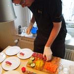 Grischa baut weiter seine Sushi