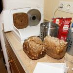 Dieters selbst gebackenes Brot