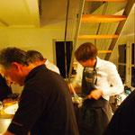 Gewusel in der Küche
