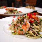 Fenchelsalat mit Meeresfrüchten