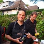 Maik mit dem neuen Kochcowboys Olivenöl