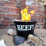 der Grill wird angeheizt<br />#beef #kochcowboys der Grill wird angeheizt #beef #kochcowboys