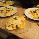 Pasta al Limone & Scampi