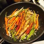 die Karotten sind auch fertig