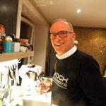Michel freut sich aufs Essen