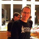 Wolfgang freut sich auf den Abend