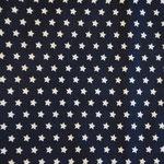 gunkelblau mit weißen Sternen