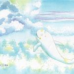 雲の中  (水彩・2009制作)