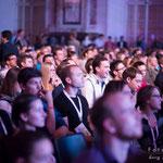 Publikum während der Vorträge