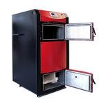 Holzvergaserkessel PID Logic geöffnete Brennkammern