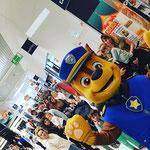 anniversaire centre commercial animations oggy le cafard