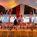 decoration velum ballon Tarbes Lannemezan hautes pyrénées